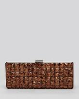 Sondra Roberts Clutch - Metallic Tiles