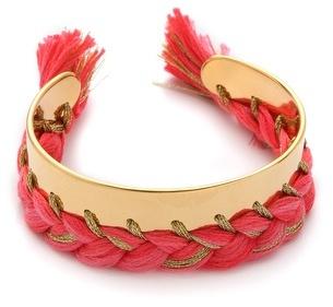 Aurelie Bidermann Copacabana Bracelet with Single Braided Thread