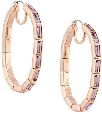 Swarovski Fluid hoop earrings