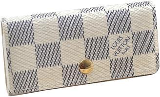 Louis Vuitton White Cloth Handbags