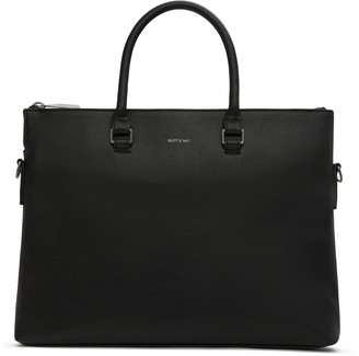 Matt & Nat ALBAN Briefcase - Black