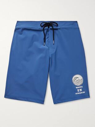 James Perse Y/osemite Long-Length Printed Swim Shorts
