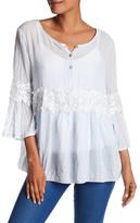 Luma Bell Sleeve Tunic Blouse