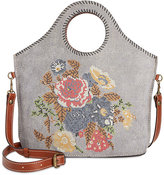 Patricia Nash Cross Stitch Moretto Shopper