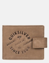 Quiksilver Mens Urban Oasis Leather Wallet