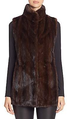 The Fur Salon Women's Mink Fur Vest
