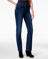 Style&Co. Style & Co. Tummy-Control Straight-Leg Jeans, Astor Wash