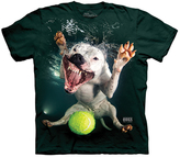 The Mountain Green Underwater Dog Grace Tee - Unisex