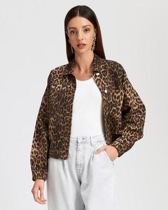 Lioness Bad Behaviour Leopard Jacket