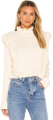 LPA Alexa Ruffle Sweater
