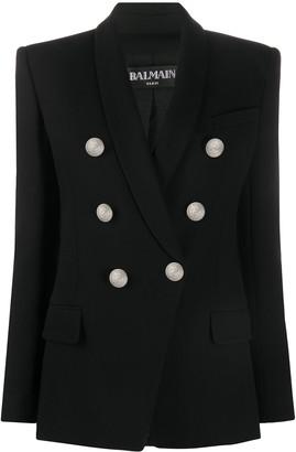 Balmain Button-Front Blazer