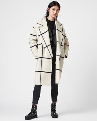 AllSaints Ryder Check Coat