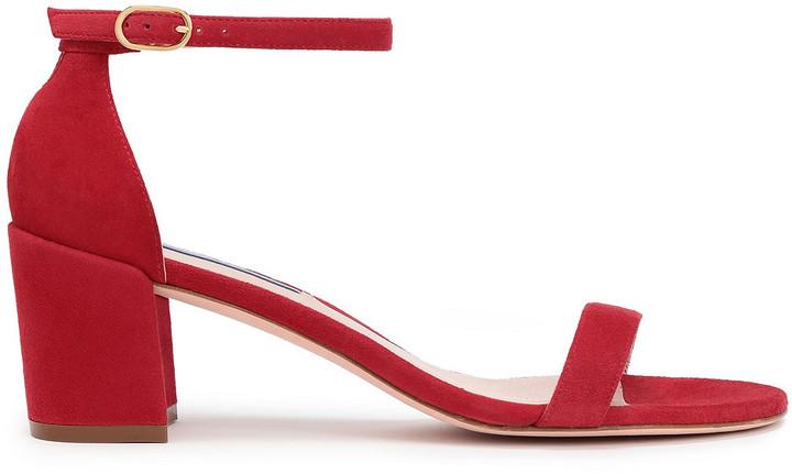 Stuart Weitzman Red Women's Sandals