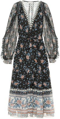 Ulla Johnson Romilly printed silk midi dress