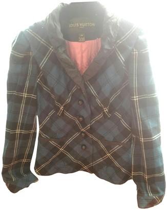 Louis Vuitton Blue Wool Jackets