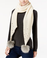 Betsey Johnson B Jeweled Scarf