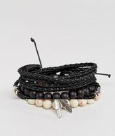 Aldo Beaded Bracelet In 6 Pack