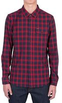 Volcom Fulton Flannel Shirt - Men's Blood Red M
