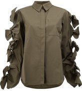 Maison Rabih Kayrouz tied sleeves shirt