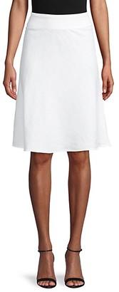 Saks Fifth Avenue Linen A-Line Skirt