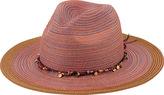 San Diego Hat Company Women's Mixed Braid Fedora MXM1023