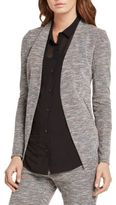 BCBGeneration Textured Open-Front Blazer