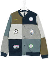 Stella McCartney Teen Roy badges cardigan