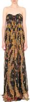 Alexander McQueen A Midsummer Night's Dream silk-chiffon gown