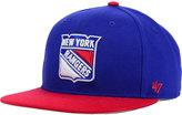 '47 New York Rangers Sure Shot 2-Tone Snapback Cap