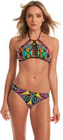 Trina Turk Africana High Neck Bra