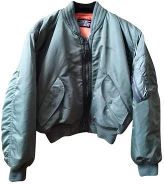 Schott \N Khaki Synthetic Leather jackets