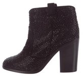 Laurence Dacade Strass Ankle Boots
