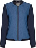 Wrangler Bomber jacket in mid indigo