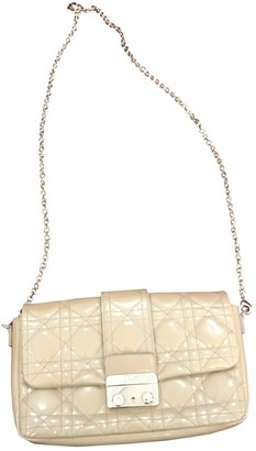 Christian Dior Miss Beige Patent leather Clutch bags