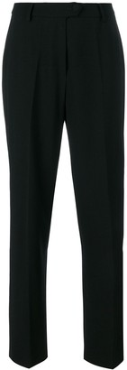 Moschino Pre Owned High-Waisted Tailored Trousers