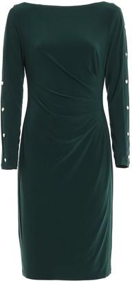 Lauren Ralph Lauren Buttoned Sleeve Dress