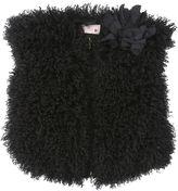 Lanvin Petite Faux Mongolian Fur Vest
