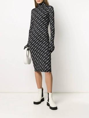 Vetements X Star Wars Logo Midi Dress