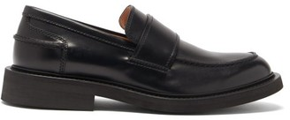 Bottega Veneta Leather Penny Loafers - Black