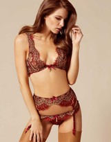 Agent Provocateur Savanna Bra Rust