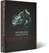 Assouline The Impossible Collection Of Motorcycles Hardcover Book - Black
