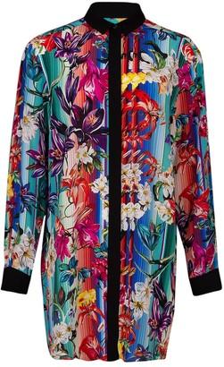 Mary Katrantzou Goya Floral Shirt Dress