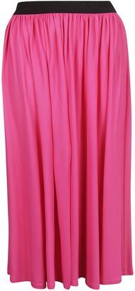 MSGM Flared Maxi Skirt