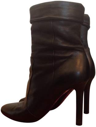Tamara Mellon \N Black Leather Boots