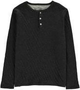 Hartford Double Jersey Henley Neck Shirt