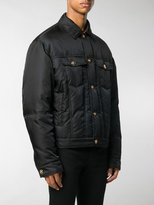 Versace Padded Collared Jacket