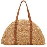San Diego Hat Company Women's Woven Straw Bag BSB1358