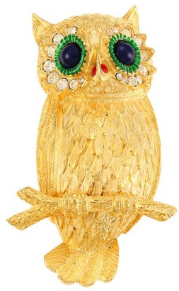 Kenneth Jay Lane Owl Pin