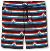 Pride Men's Woven Shorts Rainbow Stripe- Mossimo Supply Co.