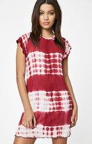La Hearts Lettuce Hem T-Shirt Dress